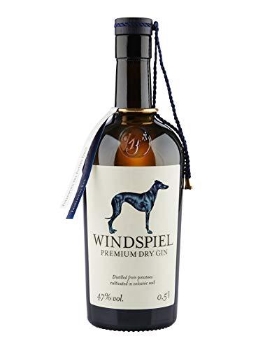Windspiel Premium Dry Gin 47 % vol. 1 x 0,5 Liter - International ausgezeichneter London Dry Gin aus...