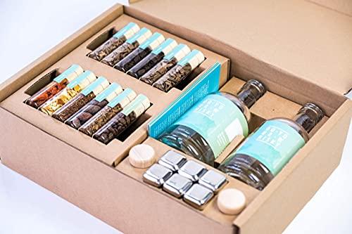 DO YOUR WHISKY   DIY Infusion Set für zu Hause & als Geschenk   Whisky-Geschmack selber-machen   12...