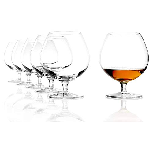 Stölzle Lausitz Cognacschwenker I 585 ml I 6er Set Cognac Gläser I spülmaschinenfest I edles...