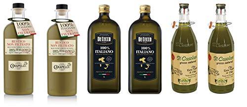 Testpaket Olio Extra Vergine di Oliva Italiano Italienisches Olivenöl extra vergine Farchioni Il...