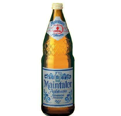 Höhl Maintaler Apfelwein, original aus Hessen (6 x 1,0l) Flasche - inkl. 0,90€ Pfand MEHRWEG