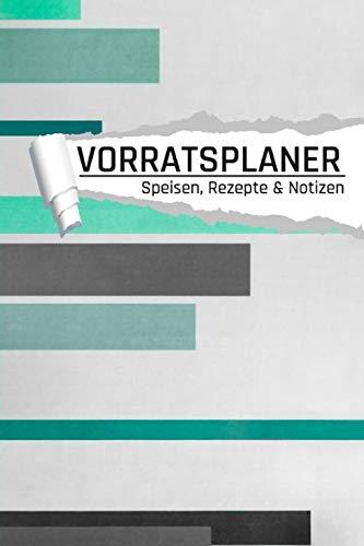 Vorratsplaner: Notreserve lagern und organisieren I Rezepte I Kontakte I Lagerbestand I grün