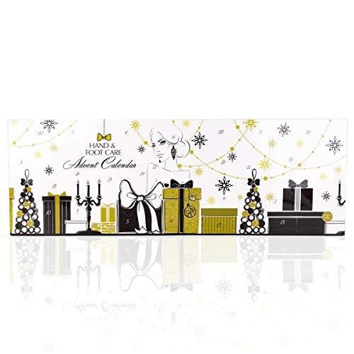 Accentra Beauty Adventskalender Mit 24 Handpflege Fußpflege Und Körperpflege Produkten Für Eine...