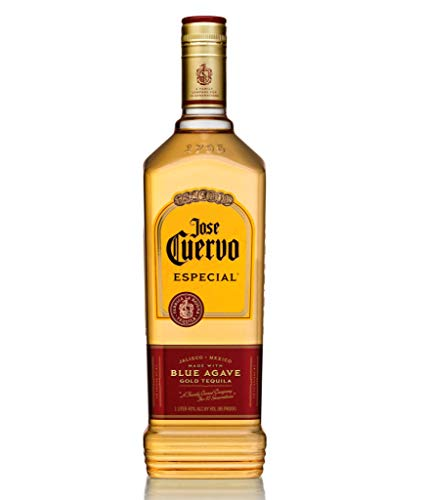 Jose Cuervo Especial Reposado Original Tequila Mexiko (1 x 1,0 l) – mexikanischer Tequila mit 38 %...