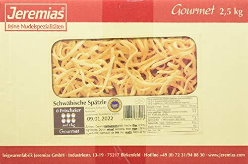 Jeremias Schwäbische Spätzle g.g.A. (geschützte geografische Angabe), Gourmet Frischei-Nudeln,...
