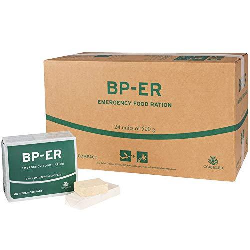 BP ER Elite Emergency Food 24 x 500 Gramm Einheit Langzeitnahrung - Produkt BPA-Frei und hermetisch...
