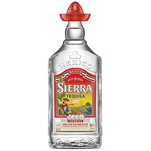 Sierra Tequila Silver - das Original mit Sombrero aus Jalisco in Mexico (1 x 0,7l) - in...