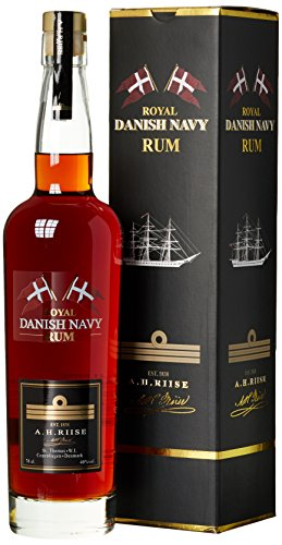 A.H. Riise Royal Danish Navy Rum (1 x 0.7 l)