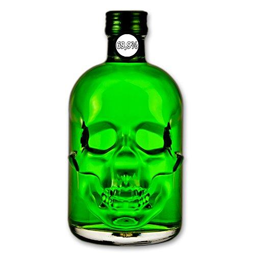 Absinthe'Amnesie' - 69,9% - 0,5 l - Absinthe - Totenkopfflasche - Wermut - Thujon - Totenkopf/Skull...