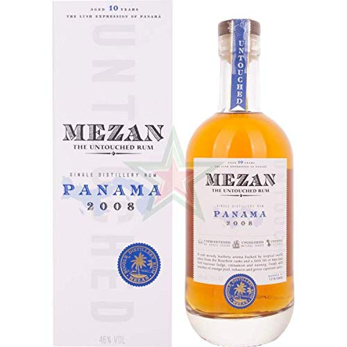 Mezan Single Distillery Rum PANAMA 2008 46,00% 0,70 Liter