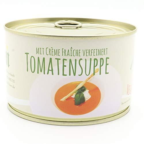 Diem - Tomatencremesuppe - Tomatensuppe mit Creme Fraiche verfeinert - 400g - langes MhD - Dose,...