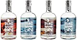 Breaks Gin Sonderedition 4 Elemente - 4er Set - Feuer - Wasser - Erde - Luft - *Limited Edition* -...