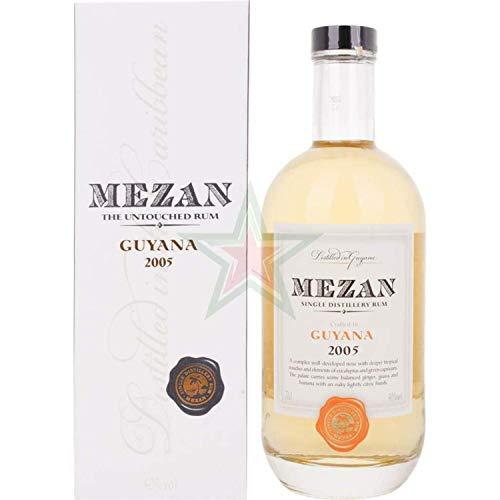 Mezan Single Distillery Rum GUYANA 2005 40,00% 0,70 Liter