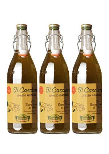 Olio Extra Vergine Grezzo 1000 ml (3er Vorratspaket)