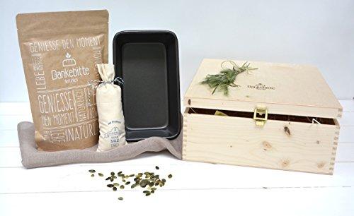 Brot und Salz Box gro - Geschenk zum Umzug