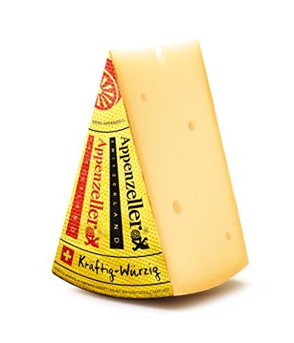 Appenzeller Käse kräftig würzig 300g Schweizer Käse frisch vom Laib inklusive Kühlversand in...