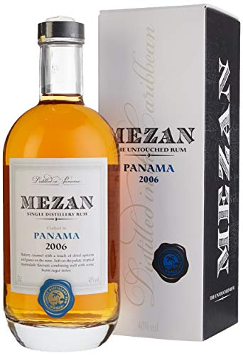 Mezan 2006 Single Distillery Panama Rum mit Geschenkverpackung (1 x 0.7 l)