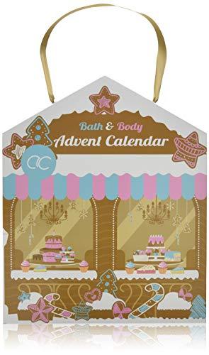 Accentra Beauty-Adventskalender Haus-Design mit Bath & Body Inhalt in sinnlichen Düften,...