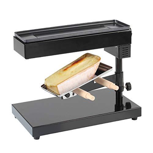 Käseschmelzer Raclettegrill Raclette Ofen für ein ganzes Stück Käse (Standgerät, 600 Watt,...