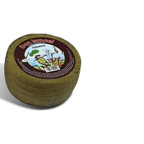 Manchego-Käse 150 Tage gereift Don Ismael 3 kg.