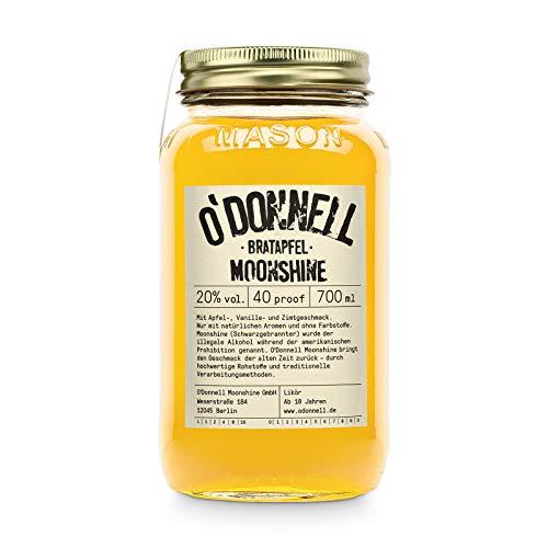 """O'Donnell Moonshine """"Bratapfel"""" Likör (700 ml) I Made in Germany I Natürliche Zutaten I..."""