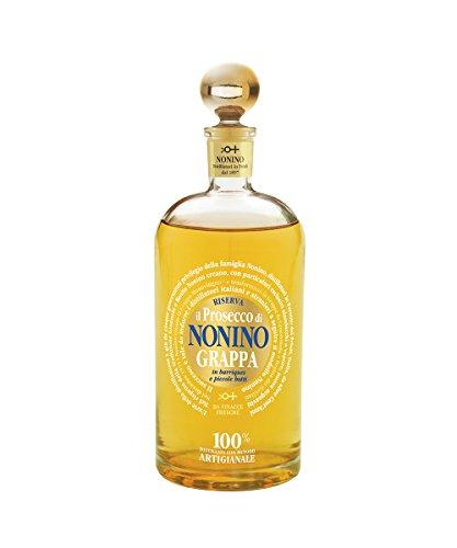 Nonino Grappa Il Prosecco Monovitigno im Barrique gereift 41% vol. mit Geschenkverpackung (1 x 0.7...