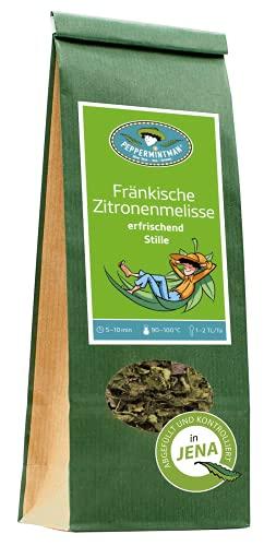 Fränkische Zitronenmelisse – Kräftig aromatischer Kräutertee made in Germany – In ganzen...