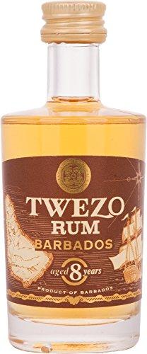 Twezo Rum Barbados 8 Years Old  (1 x 0.05 l)