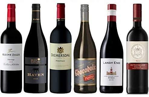 6er Probierpaket Rotwein aus Südafrika | 6 x 0,75 L.