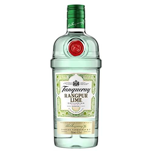 Tanqueray Rangpur Lime Distilled Gin – Ideale Spirituose für Cocktails, Gin Tonic oder als...