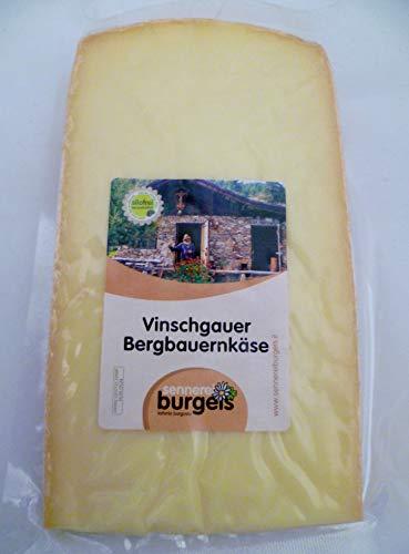 Südtiroler Vinschgauer Bergbauern Käse 300 gr. aus Burgeis von der Sennerei