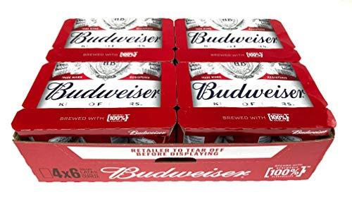 Budweiser Amerikanisches Bier (Pack 24 Dosen x 330ml) | VERKAUFT VON AMZ_store | bier geschenk,...