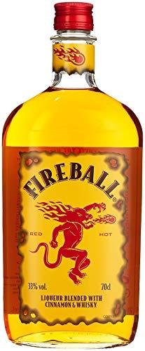 Fireball Likör Blended With Cinnamon & Whisky (1 x 0.7 l)