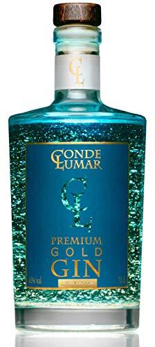 Premium Gin 23-Karat Deutschland Blattgold - Mediterran Zitrus Botanicals und Juniper - Gin Tonic...