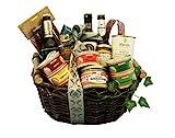 Großer Schwäbischer Geschenkkorb gefüllt mit deftigen schwäbischen Spezialitäten - Fresskorb...