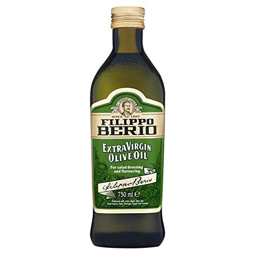 Filippo Berio Extra Virgin Olive Oil Glass Bottle 750ml
