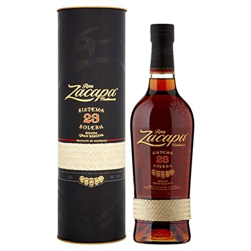 Ron Zacapa Sistema Solera 23 Jahre Rum – Süß-fruchtiger Rum – Ideale Spirituose als Aperitif,...