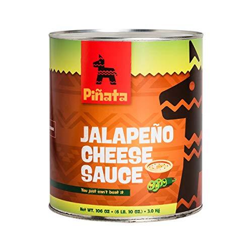 Pinata Jalapenio Cheese Sauce   3000g   Tex-Mex-Küche   mittelscharf   Kombination aus...