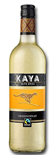 Kaya Fairtrade Chardonnay Trocken - Weißwein Südafrika Westerncape (1 x 0.75 l)