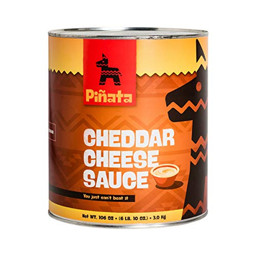 Pinata Cheddar Cheese Sauce   3000gr   Tex-Mex-Küche   mild   aus Cheddar-Käse   Sauce nach...