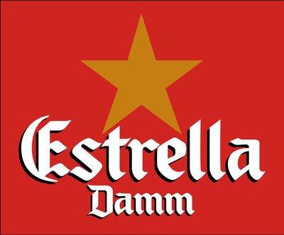 12 Flaschen Estrella Damm Barcelona Bier Cerveza a 0,33l inc. 0.96€ MEHRWEG Pfand