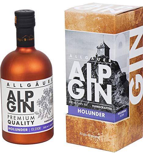 AlpGin'Holunder' - Gin aus dem Allgäu 44% Vol. 500 ml