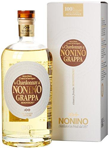 Nonino Chardonnay Monovitigno Grappa mit Geschenkverpackung (1 x 0.7 l)