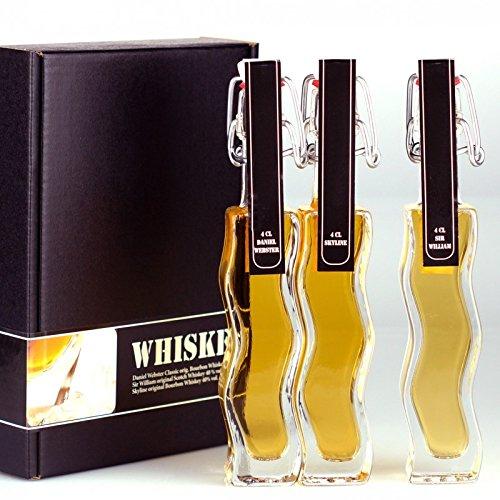 Geschenkset / Probierset Whisky / Whiskey Set. Die Geschenkidee für Whisky / Whiskey-Liebhaber, in...