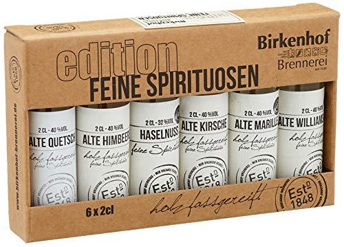 BIRKENHOF Brennerei   Tasting-Set Edition: 'Feine Spirituosen' - Alte Sorten im Holzfass gereift  ...