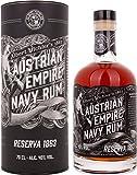 Austrian Empire Navy Reserva 1863 + GB 40% Vol. 0,7 l