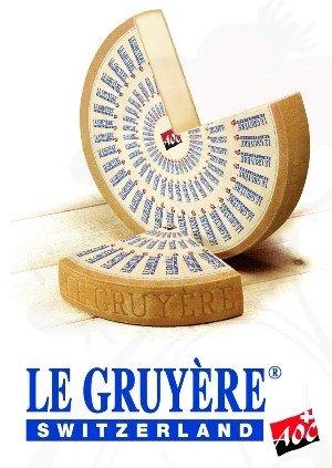Gruyere Käse - Schweizer   Premium Qualität   500 Gramm