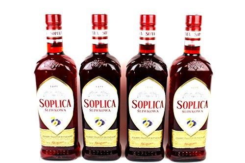 Soplica Sliwkowa Likör aus Polen (4 x 0.5 l) 30%