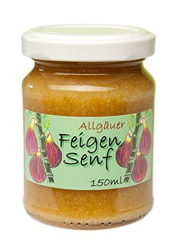 Feigen Senf aus dem Allgäu   145g süßer Feinkost Senf für Käse