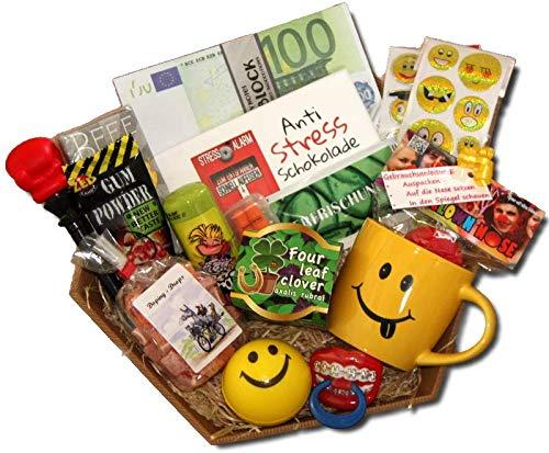 Kollegen Geschenke | Geschenkkorb Bro Firma | Anti-Stress Geschenke Kollegen | Abschiedsgeschenk...